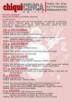 Monzón: Talleres en ChiquiCINCA. 30 de dic y 4 y 5 de enero ...