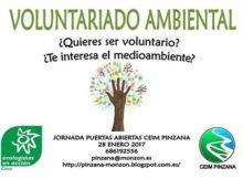 voluntariado ambiental pinzana