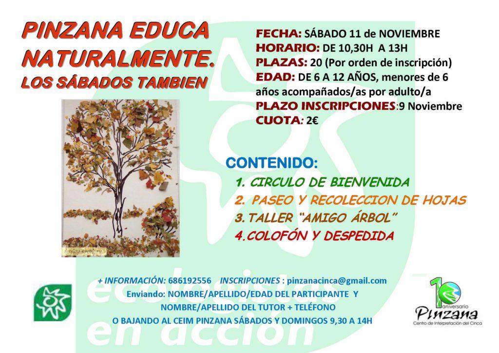 PINZANA EDUCA NATURALMENTE 11-11-17